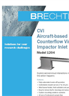 Brechtel - Model 1204 - Aircraft Based Counterflow Virtual Impactor Inlet System (CVI) Brochure