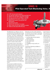 Protectoseal - Model Series No. 10 - Pilot Operated Tank Blanketing Valve - Brochure