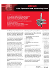 Protectoseal - Model Series No. 20 - Pilot Operated Tank Blanketing Valve - Brochure