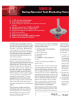 Protectoseal - Model Series No. 30 - Spring Operated Tank Blanketing Valve - Datasheet
