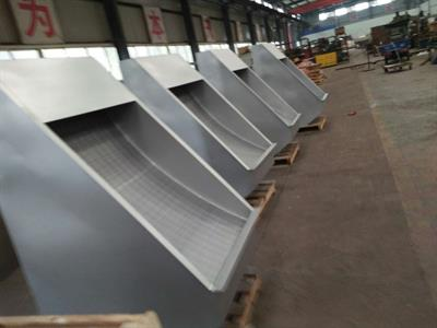 Top Machinery - Model TPBS - Sieve bend screen filter and static screen