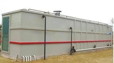 TOP - Mobile Packaged Integrated STP sewage treatment plant and equipment