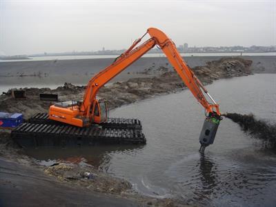 amphibious dredge Equipment | Environmental XPRT