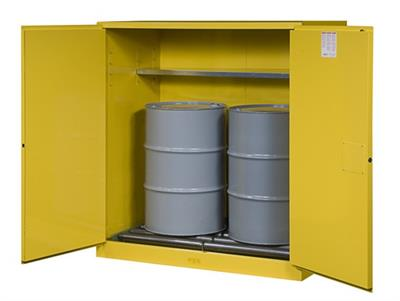 Front safety - Drum storage cabinets