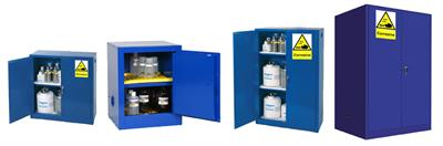 Front safety - Model FSC90 - chemical storage cabinet