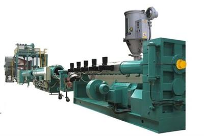 Model Hollow - Wall Spiral Pipe Extrusion Line
