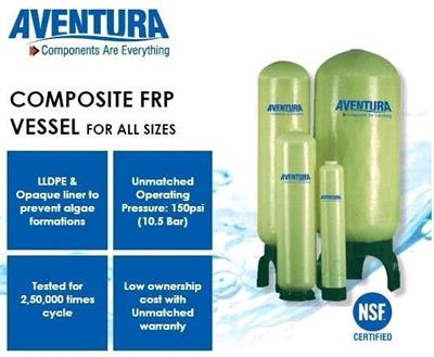 Aventura - Size 6x10 to 63x86 - Composite Pressure Vessels by Earth