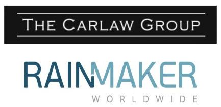 Rainmaker Worldwide Inc announced today the signing of a Joint Venture with the Carlaw Group Ltd. to provide water to Kenya, Senegal, Sierra Leone and Togo