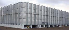 Pipeco - Model GRP - External Braced Standard Sectional Water Tank