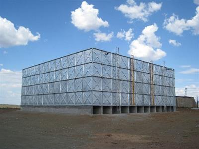Pipeco - Hot Dipped Galvanized Steel Sectional Water Tanks