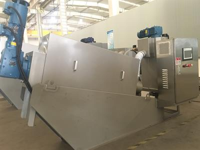 MYEP - Model MDS - Multi-disc Screw Filter Press