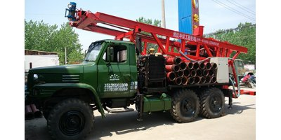 Model AKL-200T - Reverse Circulation Truck Mounted Water Well Piling Drilling Rig