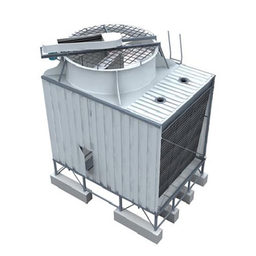 YUANHENG - All-steel Single-side Air Inlet Top Discharge Cross-Flow Cooling Tower