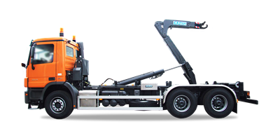 CTSlift - HOOK LIFTS WITH LOADING CAPACITY FROM 10 TO 26 TONNES