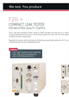 ATEQ - Model F28+ - Compact Leak Tester for Industrial Quality Control Brochure
