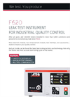 ATEQ - Model F620 - Leak Tester Brochure