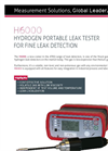 ATEQ - Model H6000 - Hydrogen Portable Leak Tester Brochure