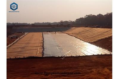 Smooth and Textured HDPE Géomembrane for Mining Tailings Project DRC