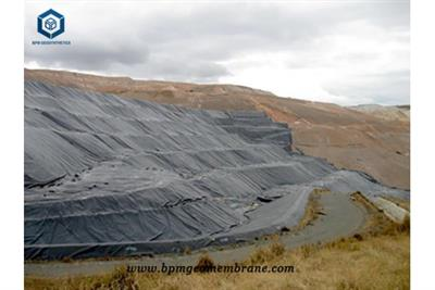 Heavy Duty Plastic Pond Liner for Gold and Copper Mining Project in Congo