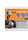 Titan GER - Model 500 Plus - Long Range Diamond and Gemstones Detector Brochure