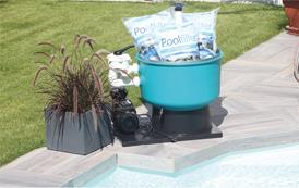 FIBALON - Model System - Complete Energy-Saving Pool Water Filtration System