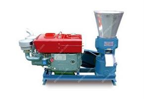 ABC - Model A- ZLSP-D - Diesel Engine Small Pellet Mill