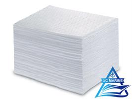 UC MARINE - Oil-Only White Sorbent Mats