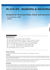Charter Plastics - Model PE 4710 - Municipal & Industrial Iron Black Pipe Brochure