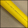 Charter Plastics - Model 2708 - Yellow - CTS & IPS - Copper Tube Size & Iron Pipe Size Gas Pipe