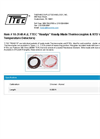 T-Tec - Model 10-3148-K-2 - Ready-Made Thermocouples & Resistance Temperature Detectors - Datasheet