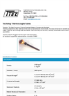 Techoloy Thermocouple Tubes - Datasheet
