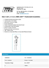 KWIK-SHIP - Model QA1-J-7.5-G1 - Thermowell Assemblies - Datasheet