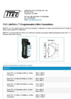 TTEC - Model 420PRO-L - Programmable 2-Wire Transmitters - Datasheet
