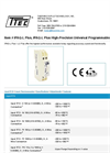 Model IPAQ-L Plus - High-Precision Universal Programmable 2-Wire Transmitter - Datasheet