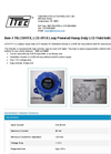 Model 70LCDH11X, LCD-H11X - Loop Powered Heavy-Duty LCD Field Indicator - Datasheet