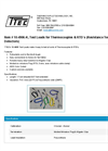 Grittec - Model 10-4906-K - Test Leads for Thermocouples & Resistance Temperature Detectors - Datasheet
