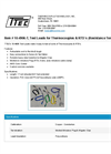Model 10-4906-T - Test Leads for Thermocouples & Resistance Temperature Detectors - Datasheet