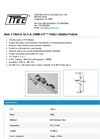KWIK-FIT - Model 1060-A-12-S-A - Field Cuttable Probes - Datasheet