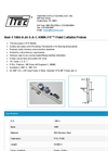 KWIK-FIT - Model 1060-A-24-S-A-1 - Field Cuttable Probes - Datasheet
