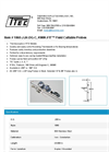 KWIK-FIT - Model 1060-J-24-DG-C - Field Cuttable Probes - Datasheet