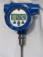 TTEC - Model 8080KNA-AS-2.5 - Battery Operated Digital Temperature Indicator RTD Assembly