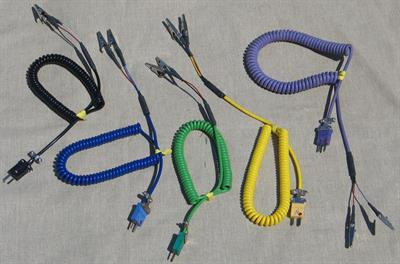 Model 10-4906-R - Test Leads for Thermocouples & Resistance Temperature Detectors