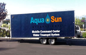 Aqua Sun - Model WTPA10-B, WTPA20-B, and WTPA30-B - Mobile Water Treatment Plants