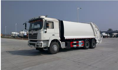 Shacman - Model F3000 - 18-20m3 Compactor Trash Truck