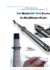 ASI - Model DP-049 Series - In-Situ Dilution Probe Brochure