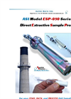 ASI - Model ESP-050 Series - Direct Extractive Sample Probe Brochure