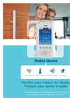RubiX Home - Indoor Air Quality Monitor Brochure