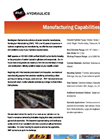 General Manufacturing Capabilities Brochure