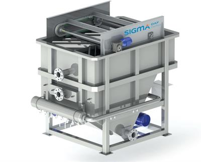 SIGMADAF - Model FPBC - Flotation System