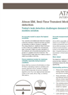 Atmos - Model SIM - Real-Time Transien Leak Detector Brochure